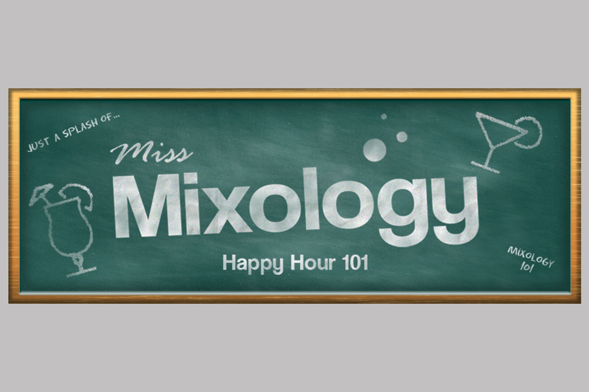 Miss Mixology Facebook Cover